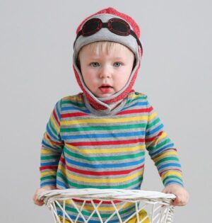 baby winter hat-baby aviator hats-unisex baby hats-baby gift sets-winter pilot hat