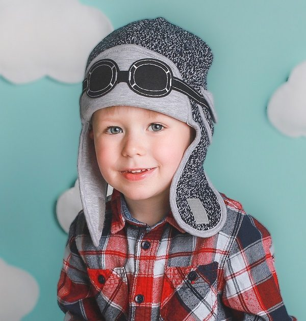 winter hat-baby boy aviator hats-baby knitted hats-baby gift sets