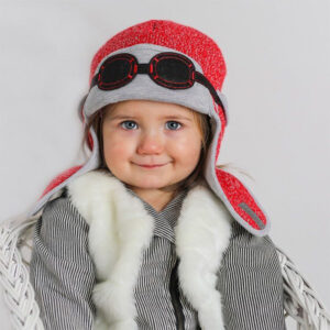 Cute knitted baby hats