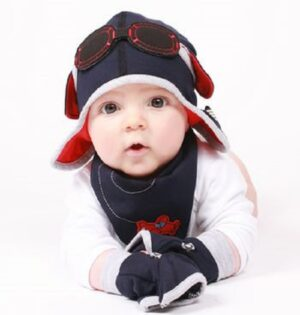 boys aviator hat-boys pilot gift set-baby boy gifts-baby hat-boys hat