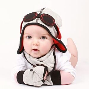 boys aviator hat-Toddler hat-boys pilot gift set-baby boy gifts-baby hats-baby boy hat