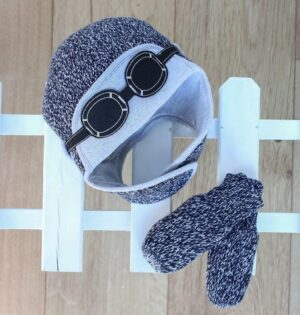 boys winter hat-baby boy aviator hat-baby knitted hats-baby gift sets