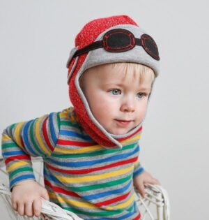 baby aviator hat-gender neutral baby hats-baby gift sets