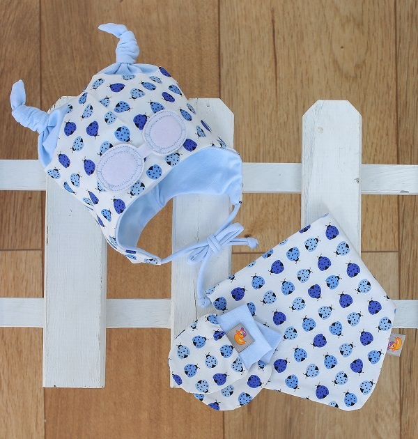 blue ladybird gift set