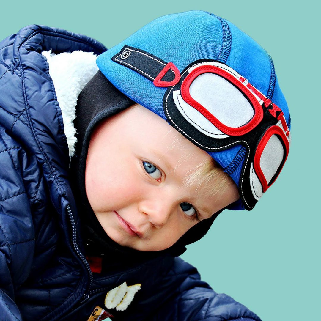 Baby Boys Hat - Driver Themed - Little Rascal Cotton Blue   My ... 5689027a73ff