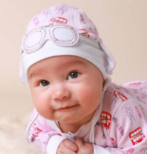 A cute baby girl outfit