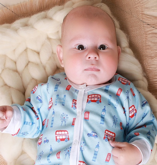 baby-boy-sleepsuit-baby-boy-onesies-with-red-London-bus
