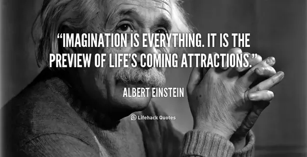 albert einstein quote - importance of imagination