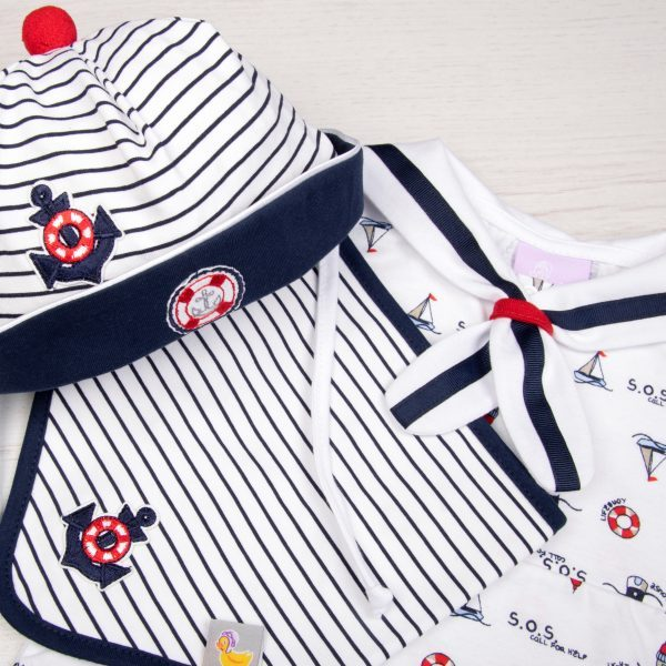 baby clothing-baby boy summer outfits-baby gift sets-boys hats-kids hats-baby sailor gift set