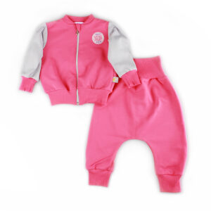A cute baby girl tracksuit